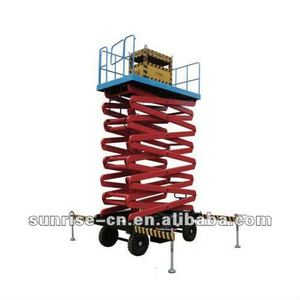 battery operated Electric scissor lift