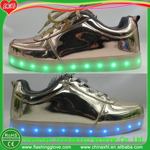 golden Light board LED shoes shoes up CvqUF8g
