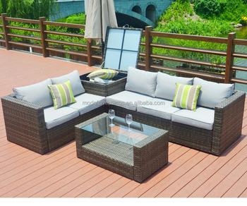 Outdoor Garden Rattan Sectional Sofas