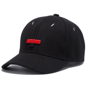 High Quality Custom 3D embroidery cross black snapback baseball caps