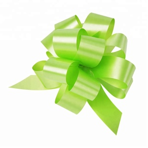 Manufacture Gift Wrap Pull Bows Flower Ribbon