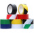 custom warning tape  red white pvc floor marking tape