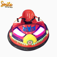 Indoor Adults Electric Kiddie Rides Inflatable UFO Battery Spin Zone Bumper Car For Sale