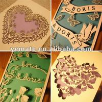 Paper Handmade Wedding Invitation Cards Models,Purple Wedding Card ...