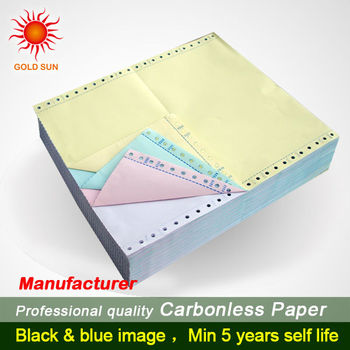 hight quality carbonless copy paper 3 layer computer printing paper