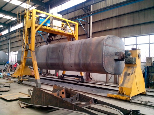 42000 Liters Carbon Steel / Stainless Steel Oil / Water Storage Tank for Sale