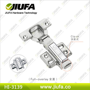 Full-overlay Push To Open Concealed Hinge (Clip On) HI-3139