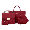 /product-detail/china-elegent-pu-leather-bags-handbag-set-women-tote-bags-5-pcs-women-handbags-set-for-lady-60748259917.html
