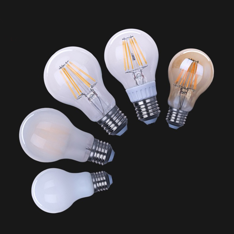 Vintage Decoration led bulb 110V 220V 4W 6W 8W G80 G95 G125 ST64 A60 Dimmable led filament