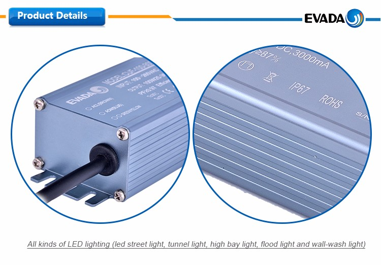 Five years'warranty waterproof led driver ip65