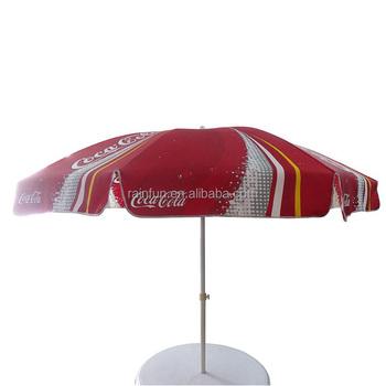 100mm Coca Advertising Cola Printing Outdoor Umbrella Buy Outdoor