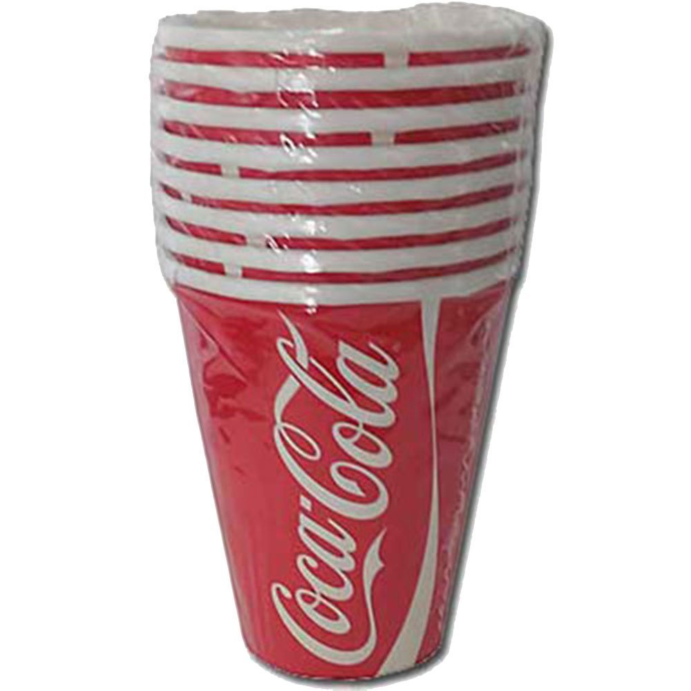 Get Quotations Coca Cola 9 Ounce Hot Cold Cups 8 Pack