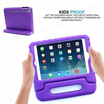 Tablet case cover for iPad mini 1 2 3 wholesale price kids soft eco-friendly eva foam shockproof shell