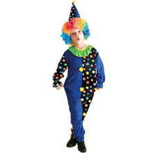 7 Sets lot Free Shipping Cute Clown Costumes Kids Halloween Carnival Masquerade Party font b Fancy