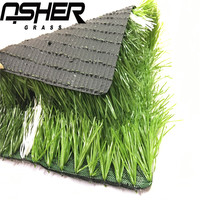 ASHER Factory Prices China Synthetic Turf For Soccer Field Football Futsal Grass