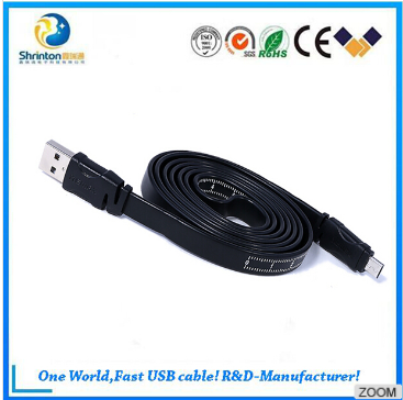 REMAX High Speed 1M/2M Micro USB2.0 data cable with ruler scale for Samsung/HTC etc. Android
