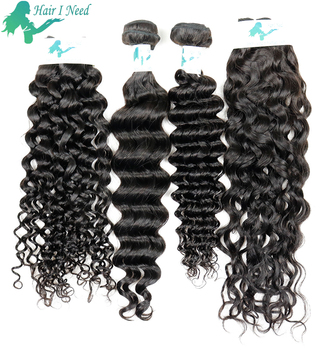 factory price peruvian hair sew in extension in jerry curl hair weave