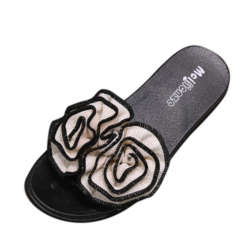 8efe1e0fbfc95 Cheap Beige Flower Slipper Sandals, find Beige Flower Slipper ...