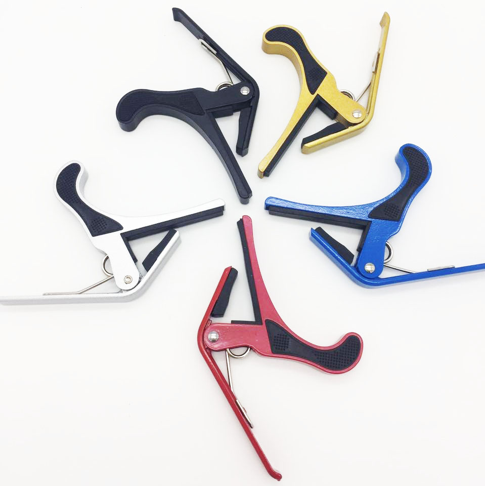 Aluminum alloy custom acoustic multi-color guitar capo
