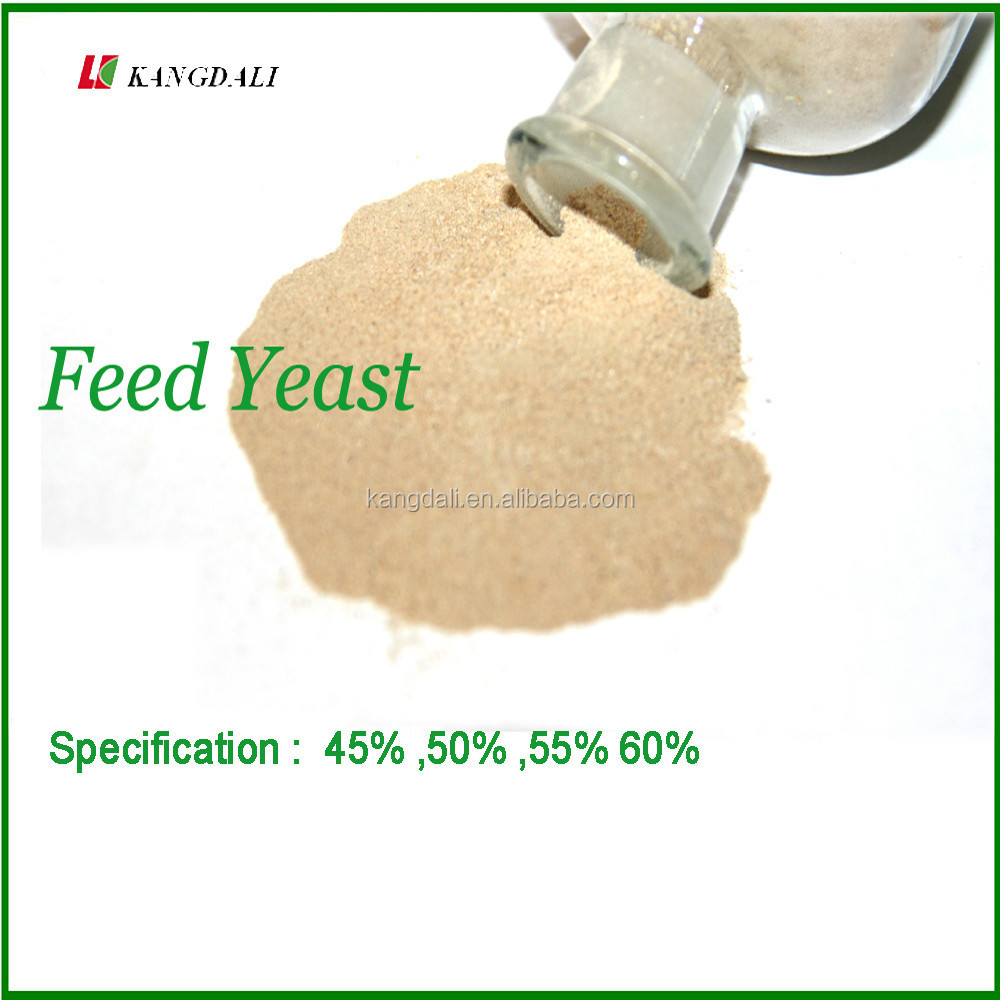 Chinese High Protein Yeast Powder 60% Feed Grade Manufacturer , Feed Yeast