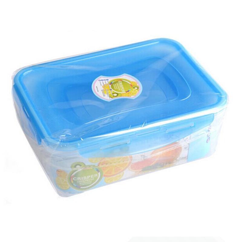 Buy 3pcs Food grade organizer Camping vacuum lunch box kitchen boxes
