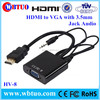Wholesale hdmi to vga rca cable Video Audio support
