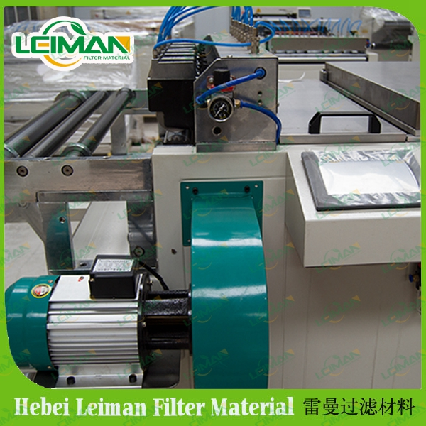Panel Filter Paper Pleating Production Line for Car Air Filter intake for proton malaysia