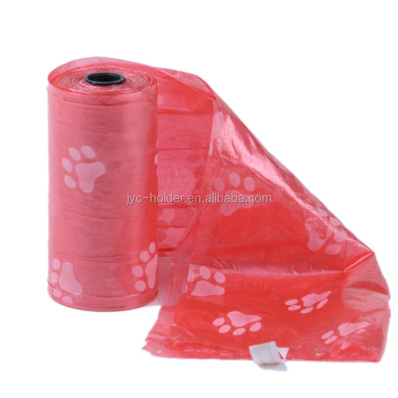 2018 new arrivals ,h0tqa dog waste bags with handles/pet poop bag