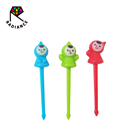 Janpan Quality Cute Doll With Hat Food Picks Bento Picks Fruit Forks