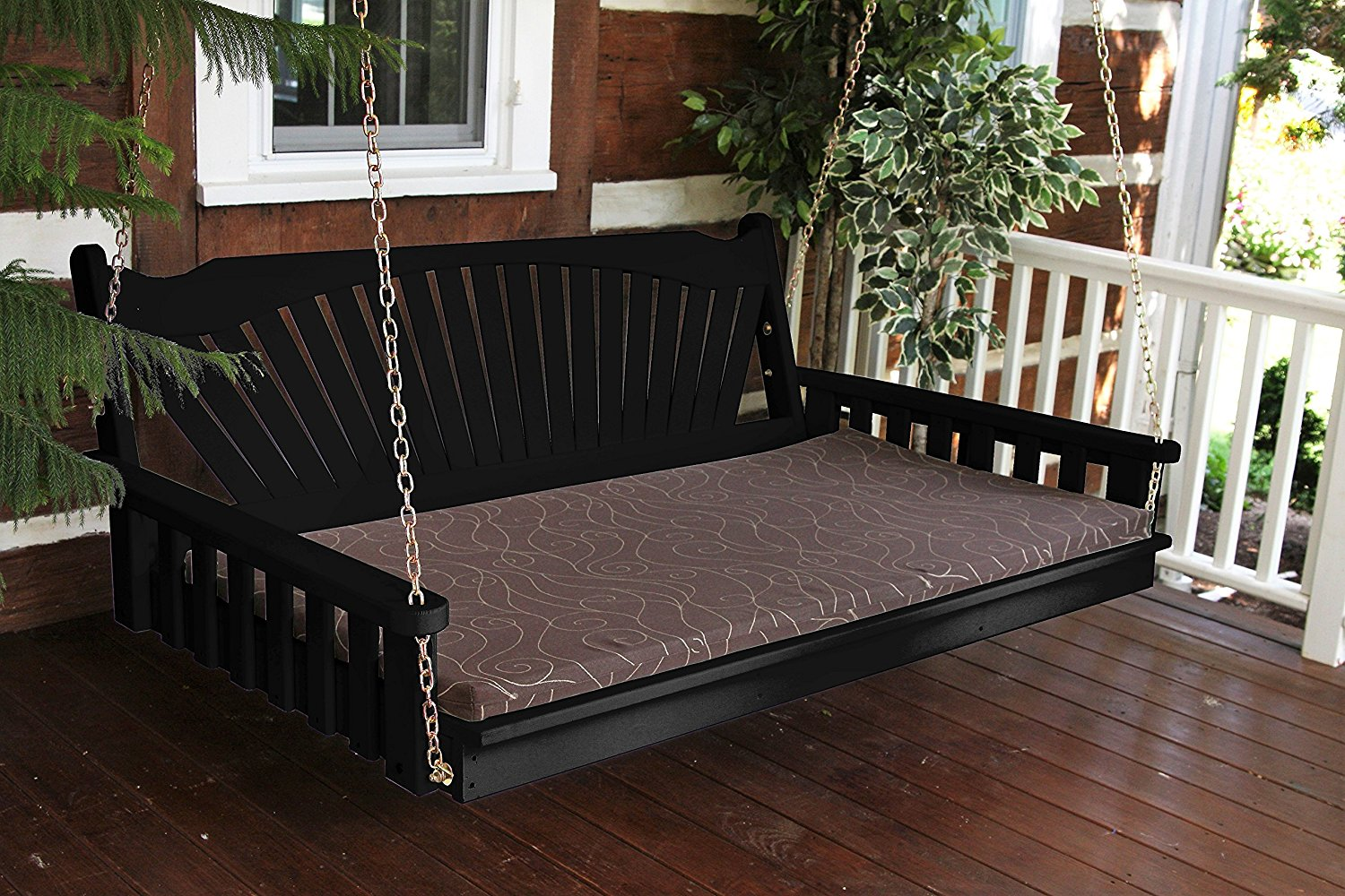 Swinging porch bed #7