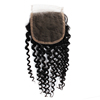 Unprocessed Wholesale Virgin Indian Human Hair Swiss Hd Lace Closure