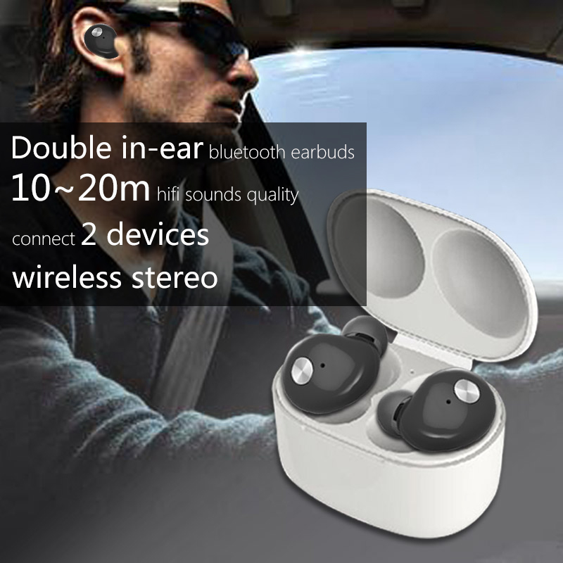 Sport wireless <strong>Bluetooth</strong> v4.2 earbuds with the best sound quality in ear auriculares <strong>bluetooth</strong> for outdoor Sports