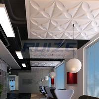 cheap 3D X shape ceiling tile for restaurant decorative