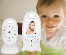 Wireless Digital 2 Ways Audio LED Music Baby Monitor Built-in Lithium Battery