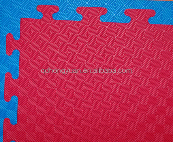 wholesale 1m*1m Large Plastic Floor interlocking EVa Mat