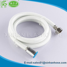 Ningbo/Yuyao PVC toilet flexible hose 3/8''Comp*7/8''Ballcock R-H with brass nut with good price
