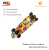 OEM 27inch maple cruiser skateboard manufacturer double kick longboard cruiser