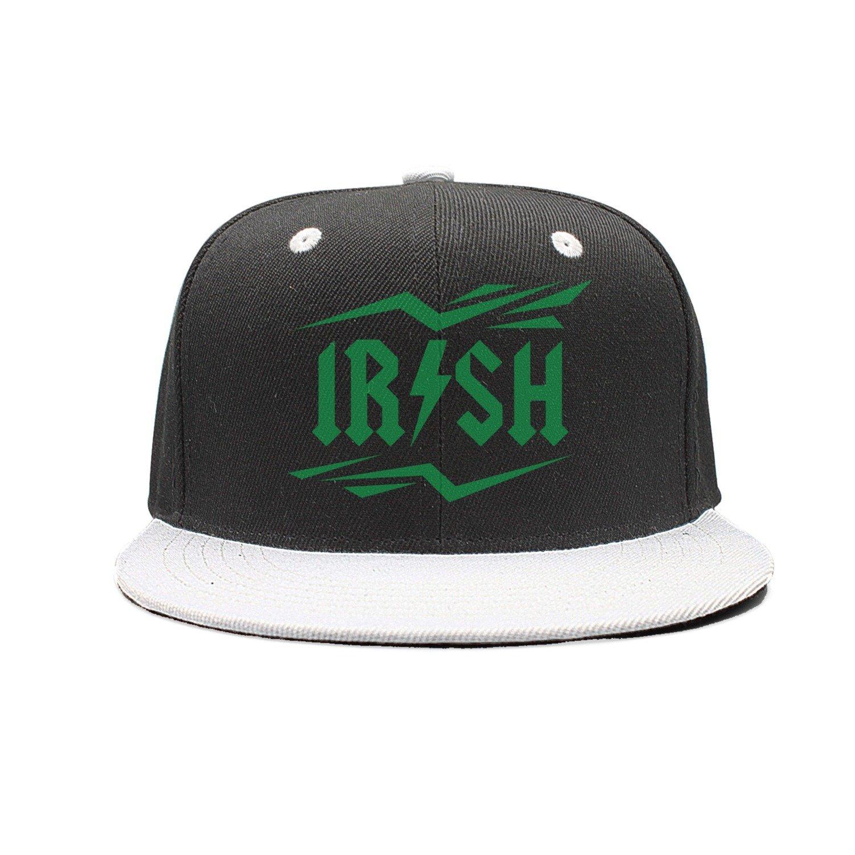 ba34aeedd7ede Get Quotations · SJSNBZ Irish Rockstar Unisex Adult Mens Womens Contrast  Color Baseball Hats Hip-hop Caps