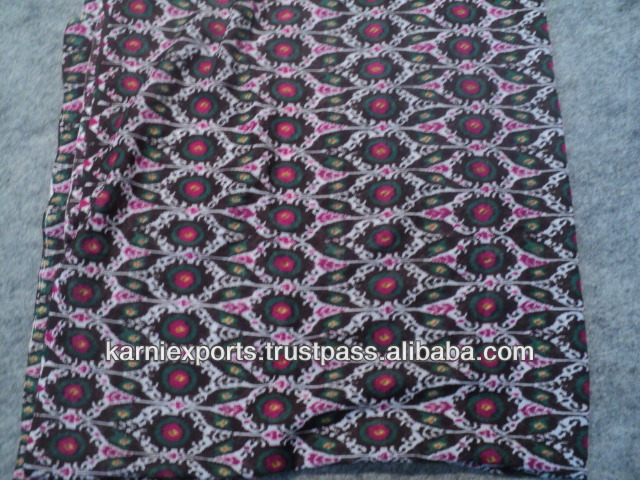 polyester cotton fabrics printed made in jaipur india Fabrics for garments & home textiles 100% polyester fabrics