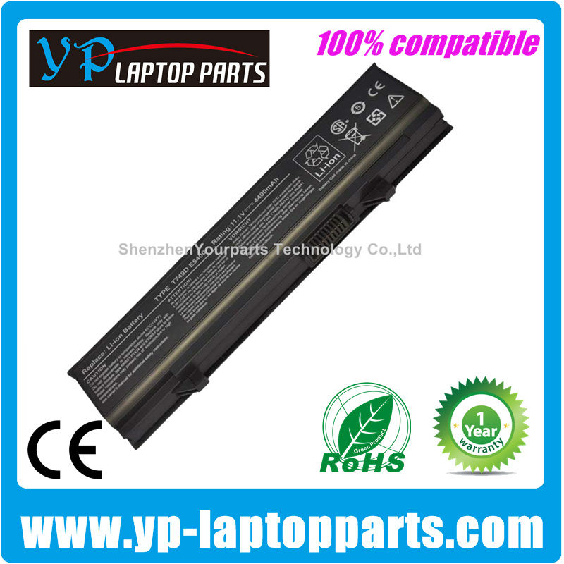 For Dell latitude E5400 battery compatible battery E5500 X644H Y568H U725H W071D RM680 T749D KM970 MT186 MT332 P858D series