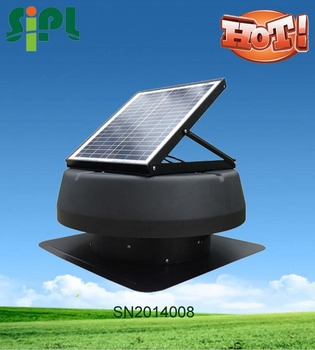 Vent Tool Solar Panel Powered Vent Fan Roof Mounted Fans Solar Attic  Exhaust Fan Eco