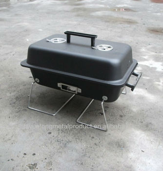 Portable Tabletop Charcoal Grill Can Be