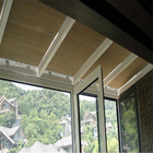 European style honeycomb shade curtains / horizontal blinds for Sun Room