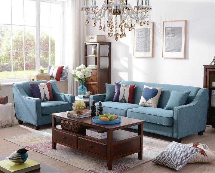 Vendita calda di stile americano tessuto divano soggiorno - Mobili stile americano ...
