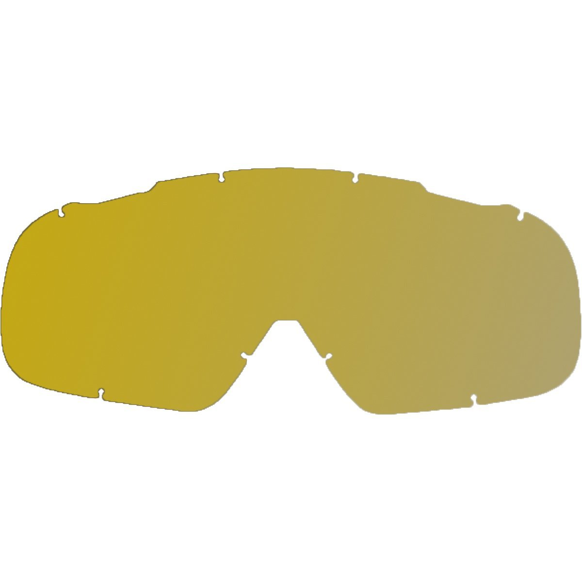 c0269aab73d Fox Racing Main Replacement Lenses Spark Standard Goggles - Gold - One Size