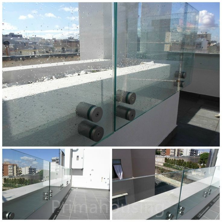 Stainless Steel Wall Mount Standoff For Exterior Glass