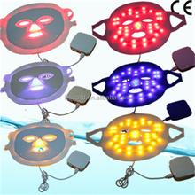 Hot Sales red blue yellow 3 colors LED ligt mask for light therapy