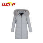 2019 winter new design modernized soft long puffer down jacket women