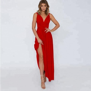 989c24cc77e7 Sexy Women Convertible Long Dress Evening Ladies Elegant Maxi Dress  Holiday Party Dress