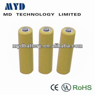 size 9V nickel cadmium rechargeable battery 120mAh 8.4V